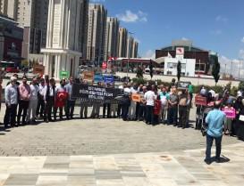 Başakşehir STK; İstanbul Sözleşmesi İptal Edilsin Basın Açıklaması