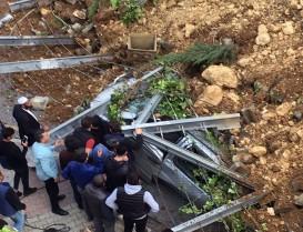 Başakşehir Bulvar İstanbul Sitesi İstinat Duvarı Çöktü