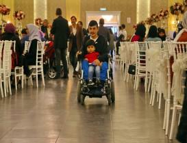Başakşehir'de Engelli Vatandaşlar ve Aileleri İftarda Bir Araya Geldi