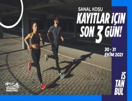 N Kolay 43. İstanbul Maratonu Sanal Koşusu kayıtları için son 3 gün!