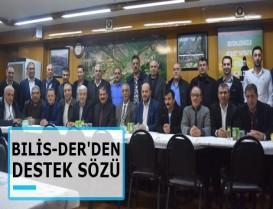 Başakşehir Şahintepe Bitlis İl Derneğinden destek sözü