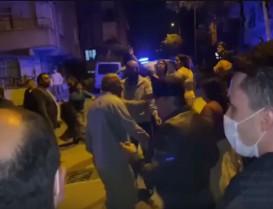 Başakşehir'de nişan atan çiftin aileleri sopalı bıçaklı kavga etti