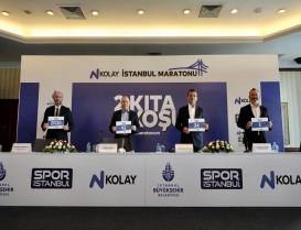 """Bu yıl İstanbul Maratonu """"N Kolay 42. İstanbul Maratonu"""" adıyla koşulacak"""