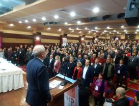 CHP Başakşehir 5. Olağan Kongresinde  Kan Değişimi