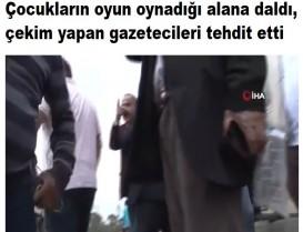 Başakşehir'de minibüsçü terörü: Çocukların oyun oynadığı alana daldı, çekim yapan gazetecileri tehdit etti
