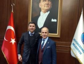 Büyükçekmece Belediye Başkanı Hasan Akgün'e Başakşehir'den Tecrübe Bilgilendirmesi