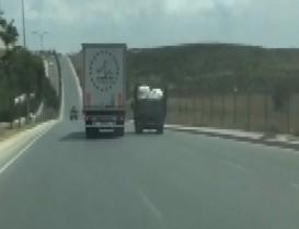 Başakşehir'de tartıştığı araca çarpan kamyon sürücüsü bulundu