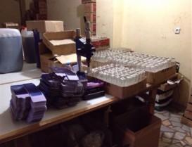 Başakşehirde Sahte Parfüm Operasyonu