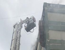 Aymakoop Ayakkabıcılar Sitesi'nde  Yangın