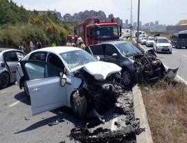 Başakşehir'de Trafik Kazası