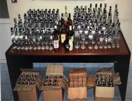 Başakşehir'de sahte içki operayonu: 2 gözaltı