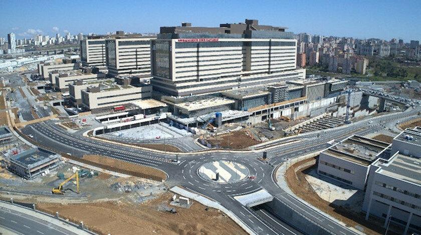 Başakşehir Şehir Hastanesi'nin bağlantı yolları tamamlandı