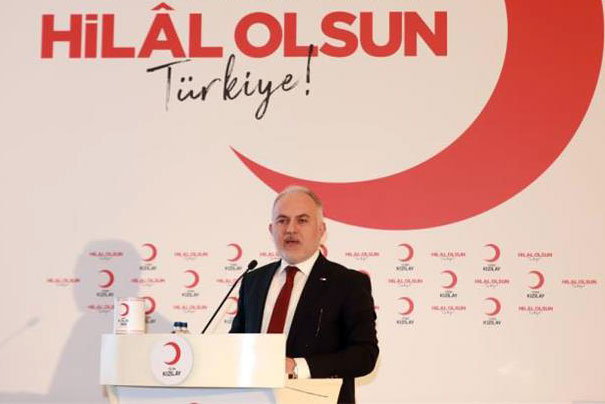 HİLAL-İ AHMER'DEN TÜRK KIZILAY'A 151 YILLIK MERHAMET ÇINARI
