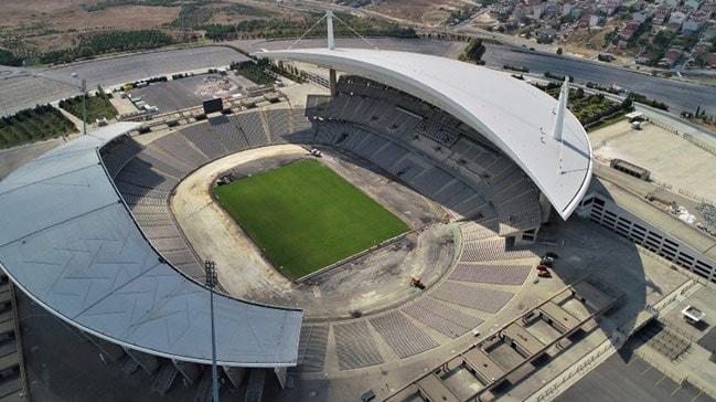 Olimpiyat Stadı'nda hazırlıklar sürüyor