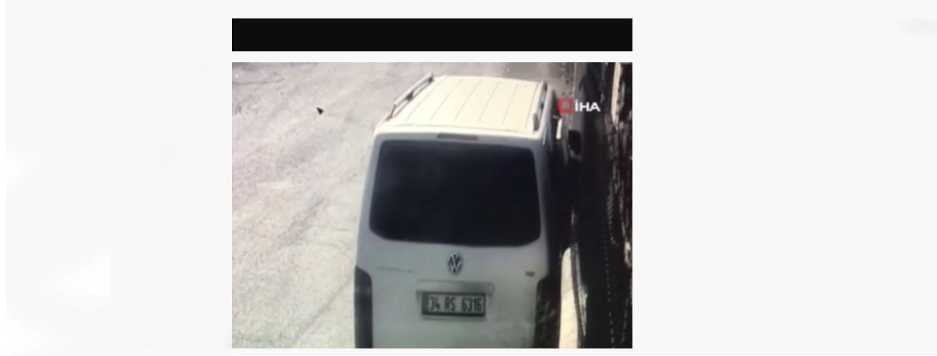 Gözü dönmüş hırsızlar, kaçarken arabayı çalışanların üzerine sürdü