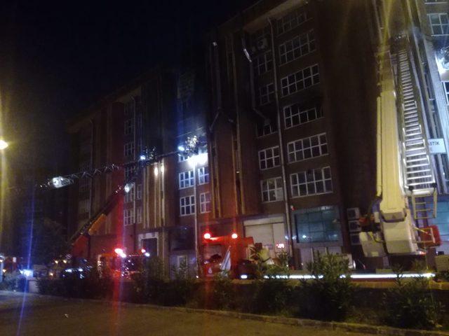 Başakşehir'de Yangın