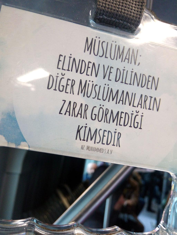 İstanbul Büyükşehir Belediyesinden Peygamberimize İftira