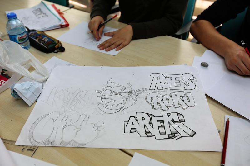 Başakşehir'de graffiti dersleri başladı