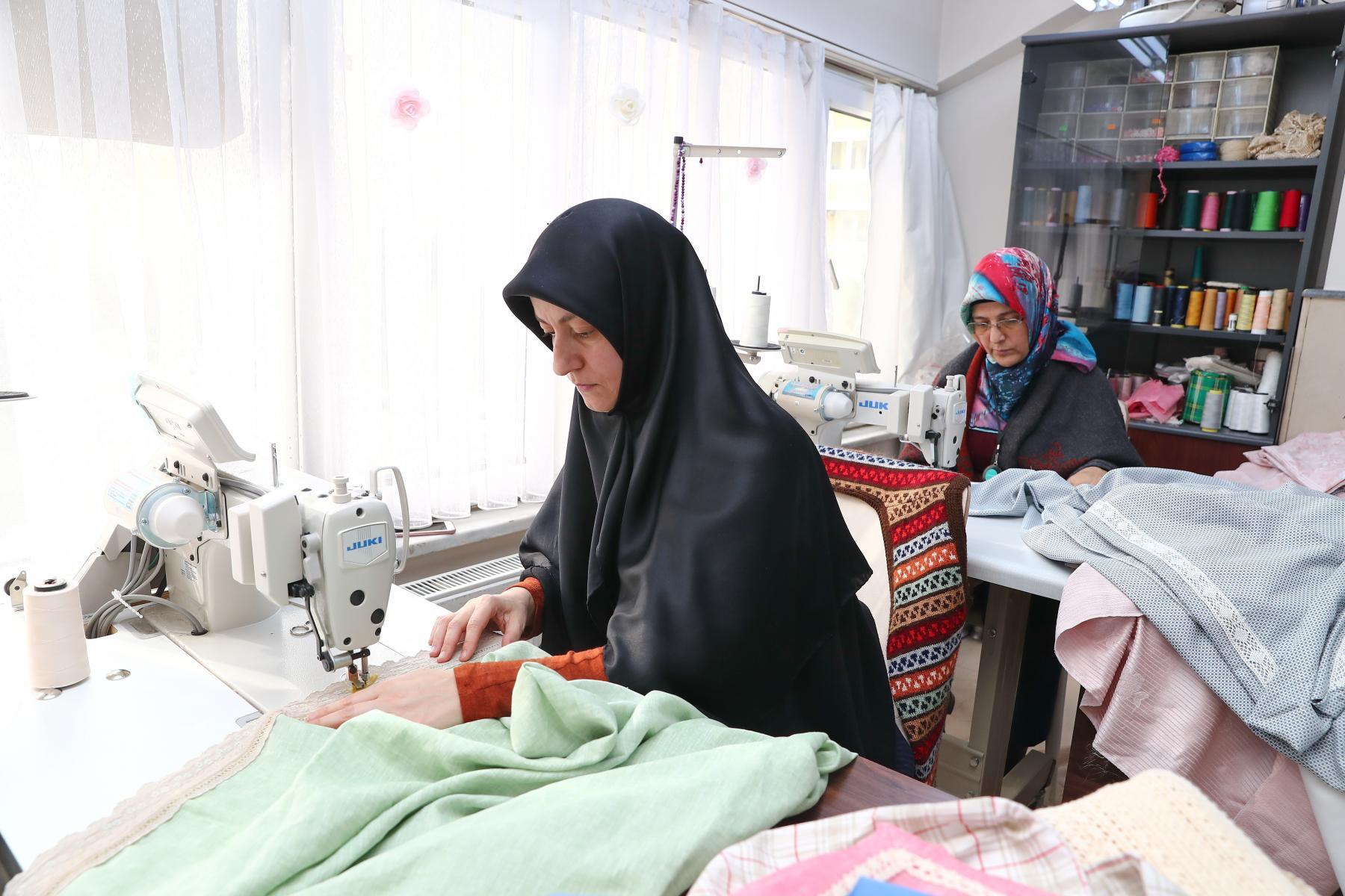 Başakşehirli kadınlar Sıfır Atık Projesi'ne tam destek veriyor.