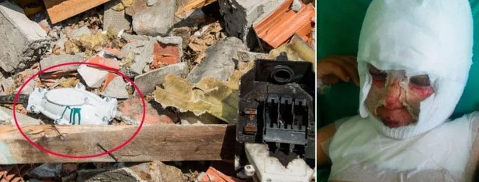 Başakşehir'de molozların arasında oynayan çocuk elektrik akımına kapıldı