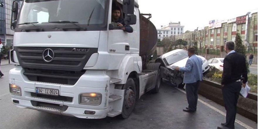 Başakşehir'de tanker faciası!