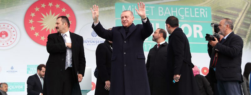 Cumhurbaşkanı Erdoğan Başakşehir'deydi!