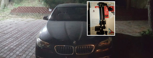 Doktorun otomobiliyle birlikte çalınan duktoskopi cihazı bulundu