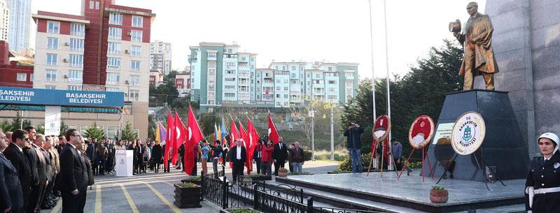 Başakşehir 10 Kasımda Matem Yaşadı