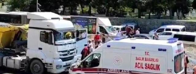 Hafriyat kamyonunun altında kalan 16 yaşındaki çocuk, feci şekilde can verdi